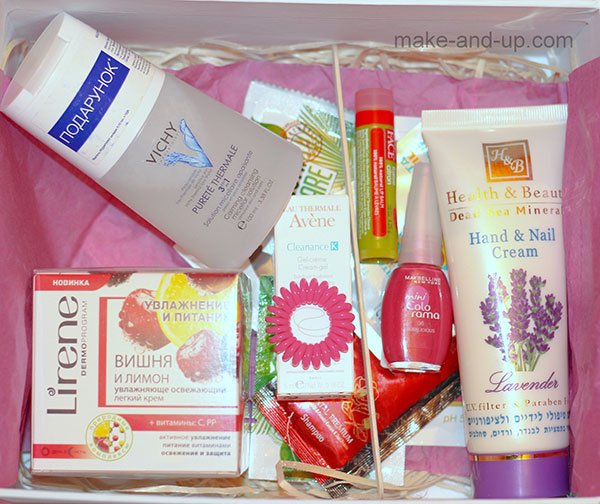 MakeUp Beauty Box май 2015