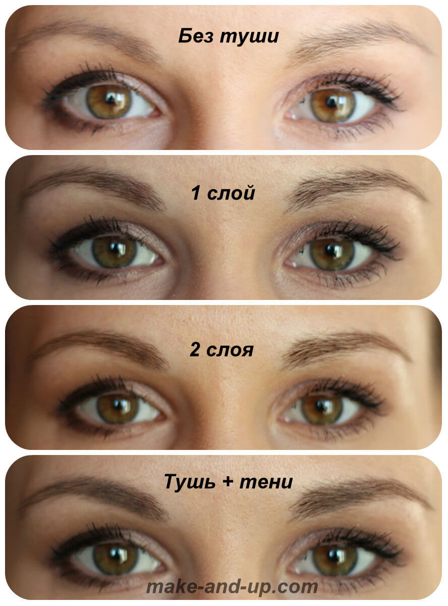 тушь для бровей Maybelline Brow Drama Sculpting Brow Mascara