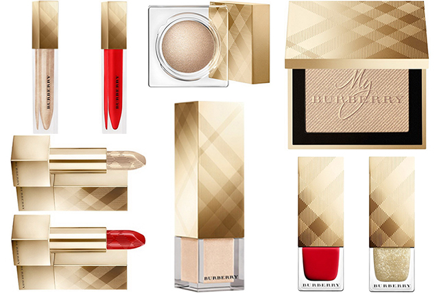 Burberry Festive Beauty Collection Holiday 2015 — 2016