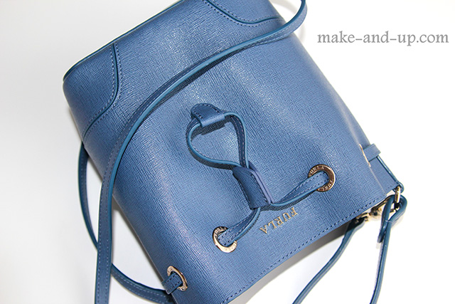 Furla Stacy Bucket Bag in Navy