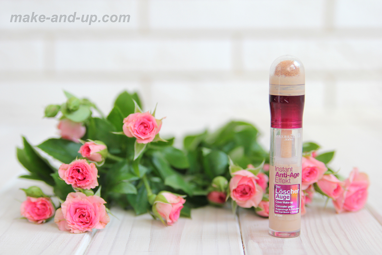 Maybelline Instant Anti-Age Eraser Eye Concealer Light отзывы