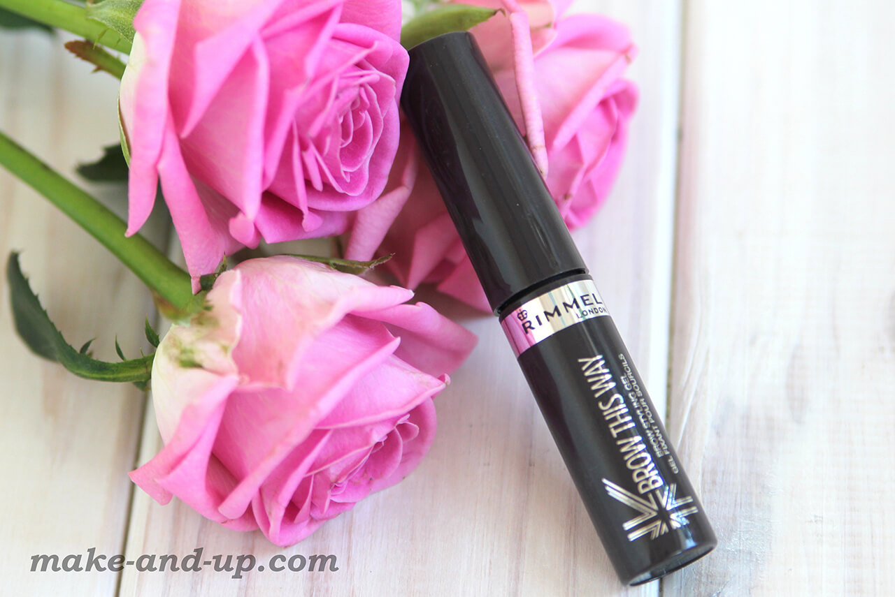 Rimmel Brow This Way Eyebrow Gel отзывы