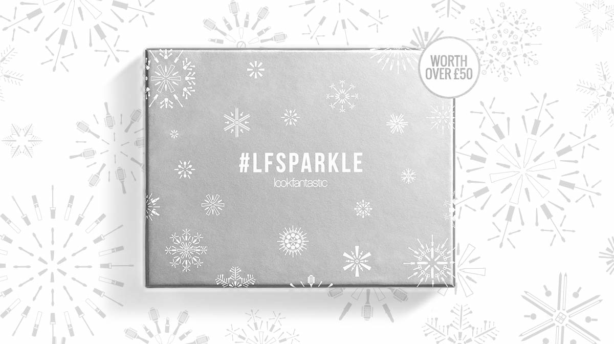 Lookfantastic #LFSparkle Beauty Box ноябрь 2016 купить