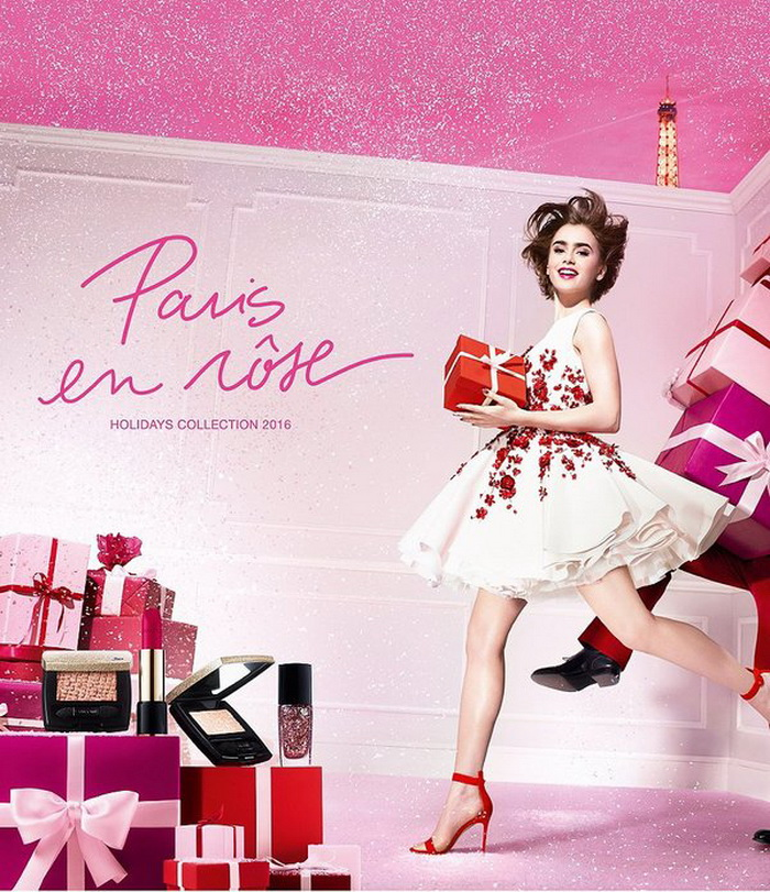 Lancome Paris En Rose Makeup Collection Christmas Holiday 2016
