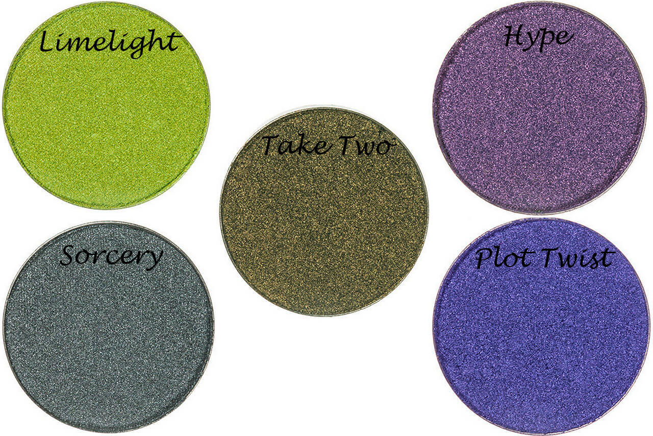 Тени-металлик Makeup Geek Foiled Eyeshadow Pans