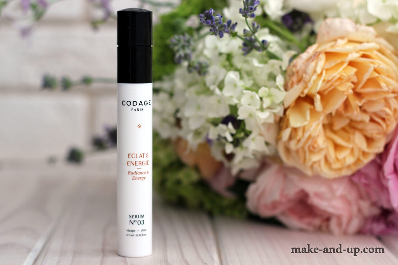 Codage Paris Radiance and Energy Serum #3 отзывы