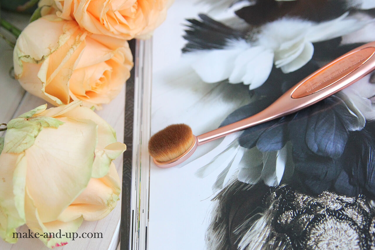 Овальная кисть Makeup Revolution Pro Precision Brush Oval Shape