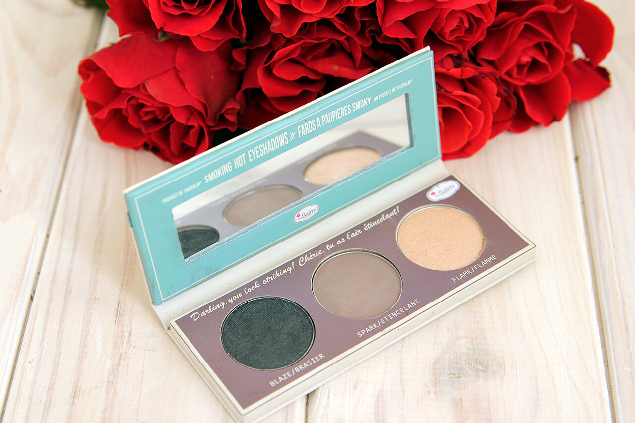 тени theBalm Smoke Balm Smokey Eye Palette Set One отзывы