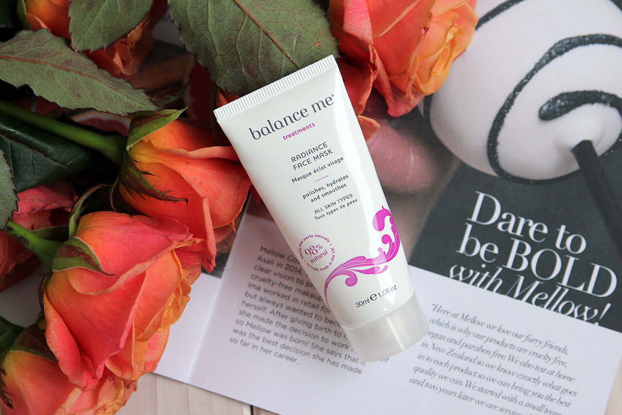 Маска для сияния лица Balance Me Radiance Face Mask