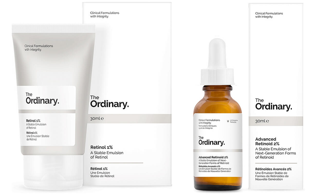 Косметика The Ordinary сыворотки с ретинолом