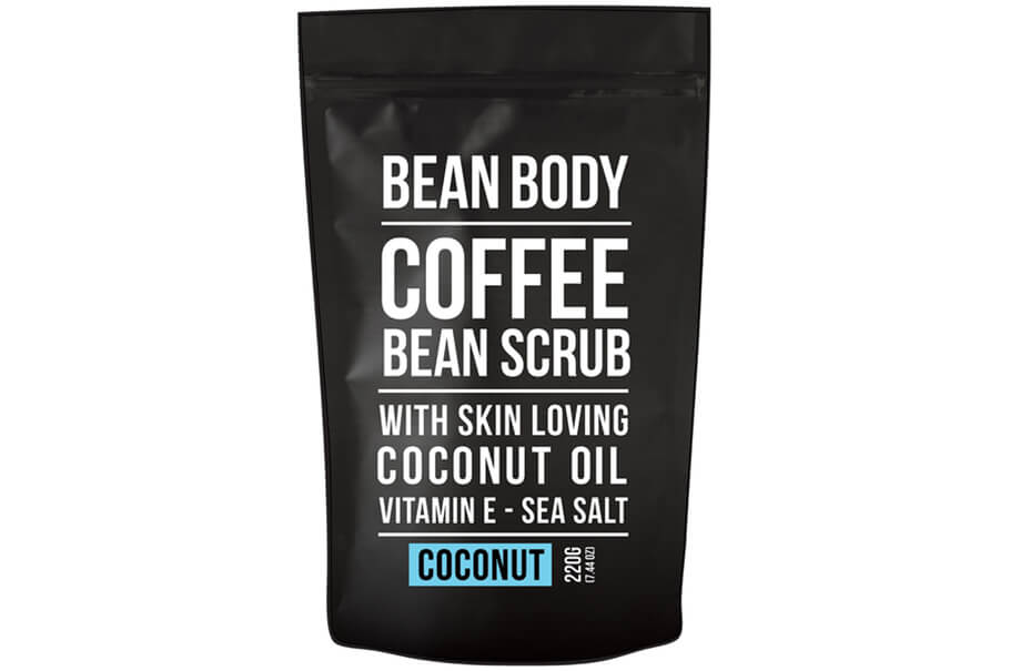 Кофейный скраб для тела с кокосом Bean Body Coffee Bean Scrub