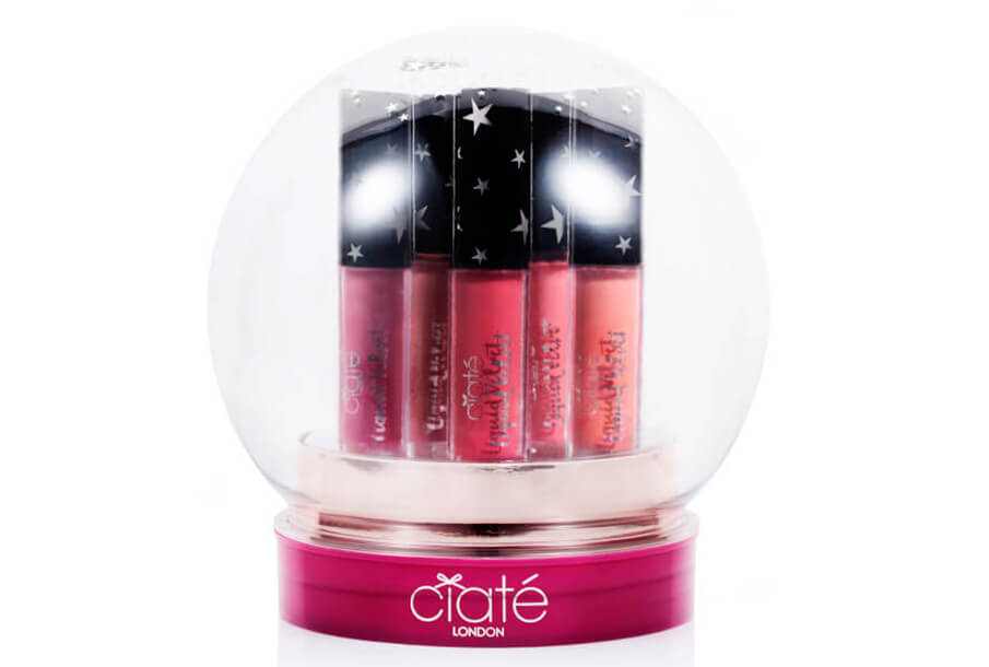 Набор помад Ciaté London Liquid Velvet Snow Globe