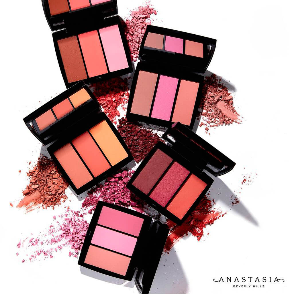 Палетки румян Anastasia Beverly Hills Blush Trio