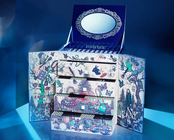 Lookfantastic Beauty in Wonderland Advent Calendar 2017 скидка