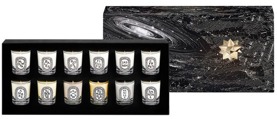 Diptyque Exclusive Set of 12 Mini Candles купить