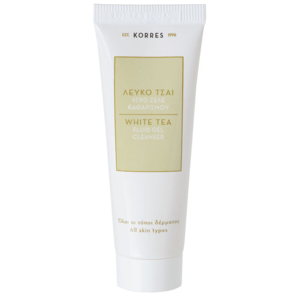 Гель для умывания Korres White Tea Facial Fluid Gel Cleanser