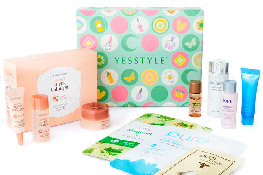 YesStyle Beauty Korean Beauty Sample Box купить