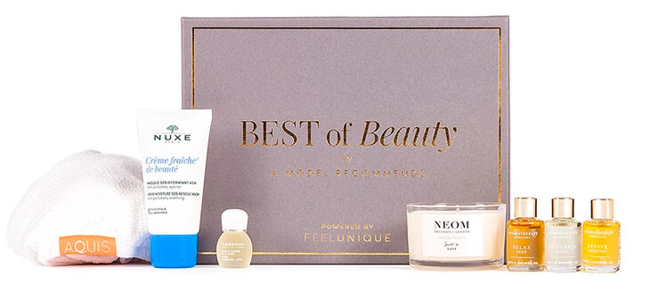 A Model Recommends Indulgence Beauty Box Powered by Feelunique